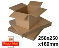 Royal Mail Small Parcel Size 250x250x160mm 25 Pack